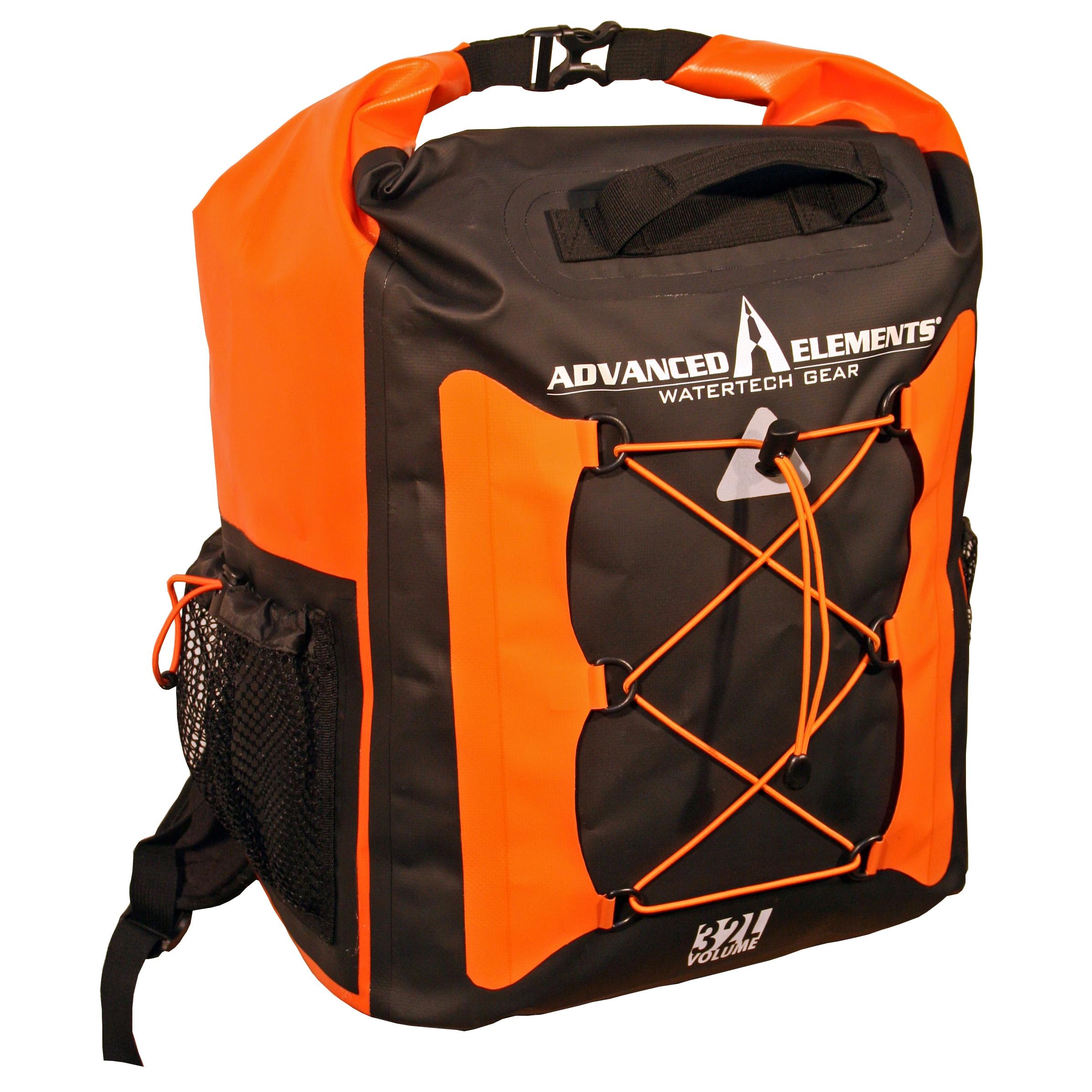 Advanced Elements CargoPak Orange and Black PVC Cargo Bag...