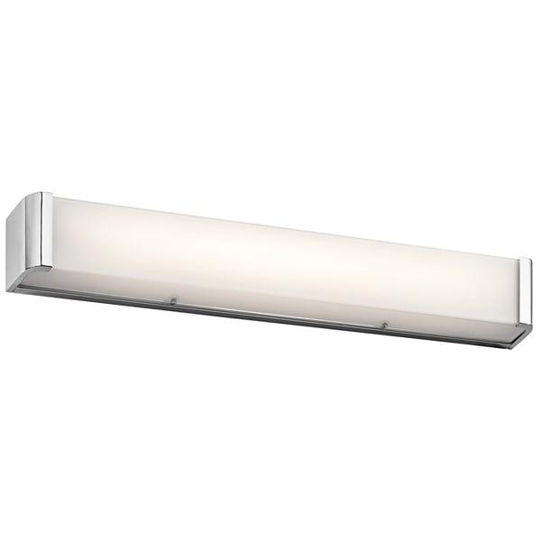 Kichler Lighting Landi Collection 36 Inch Chrome Led Linear Bath Vanity Light Free Shipping