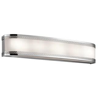 Kichler Lighting Contessa Collection 30-inch Chrome LED Linear Bath/Vanity Light