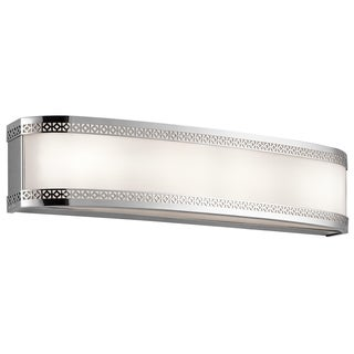 Kichler Lighting Contessa Collection 24-inch Chrome LED Linear Bath/Vanity Light