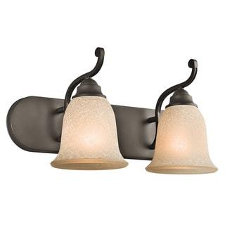 Kichler Lighting Camerena Collection 2-light Olde Bronze Bath/Vanity Light