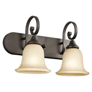 Kichler Lighting Monroe Collection 2-light Olde Bronze Bath/Vanity Light