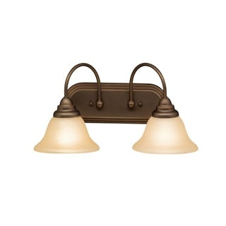 Kichler Lighting Telford Collection 2-light Olde Bronze Bath/Vanity Light