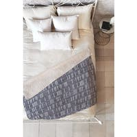 Holli Zollinger Bogo Denim Mudcloth Light Fleece Throw