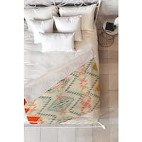 Pattern State Marker Southwest Fleece Throw