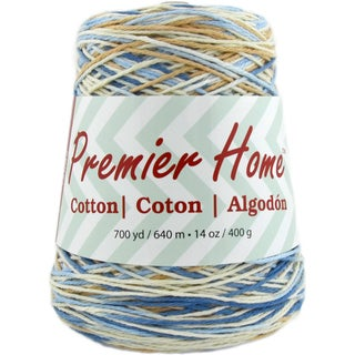 Home Cotton Yarn - Multi Cone-Rustic Blue