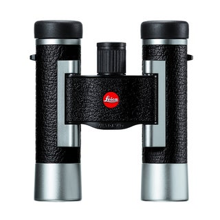 Leica Silverline 10x25 Binocular Silver/Black