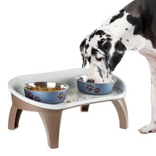 PETMAKER Elevated Pet Feeding Tray