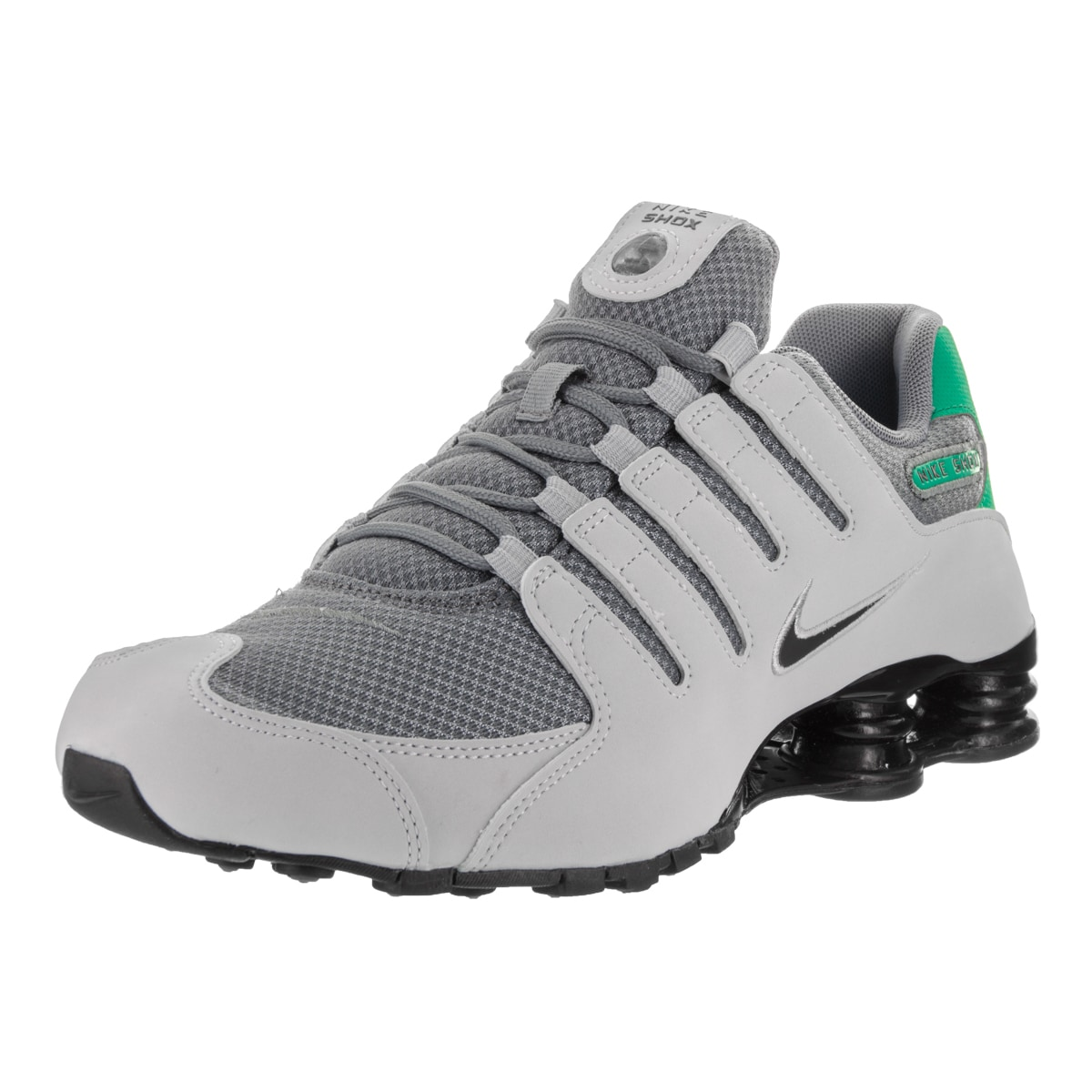 patata píldora Benigno  Shop Nike Men's Shox NZ SE Grey Synthetic Leather Running Shoes - Overstock  - 14564827