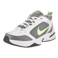 Nike Men's Air Monarch IV White Leather Training Shoes