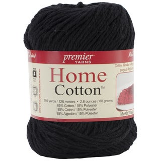 Home Cotton Yarn - Solid-Black