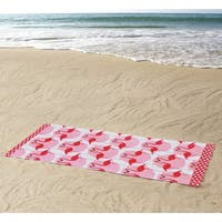 Clairebella Flamingo 100% Cotton 36x72 BeachTowel