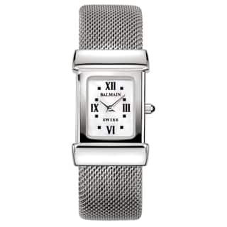Balmain Miss Balmain Silver/White Mother-of-Pearl Stainless Steel Women's Watch|https://ak1.ostkcdn.com/images/products/14565136/P21113917.jpg?impolicy=medium
