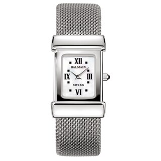 Balmain Miss Balmain Silver/White Mother-of-Pearl Stainless Steel Women's Watch