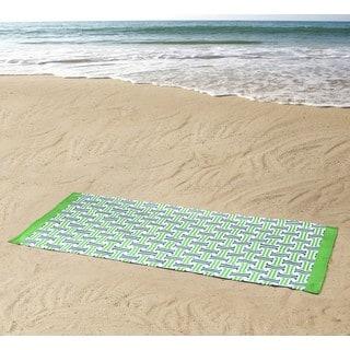 Clairebella Monterey 100% Cotton 36x72 Beach Towel