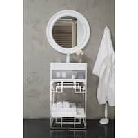 Beverly 19-inch Bright White Top White Single Vanity