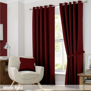 Red, Thermal Curtains & Drapes - Shop The Best Deals For Apr 2017