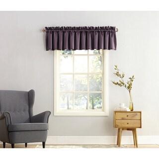 Laurel Creek Mendocino Rod Pocket Room Darkening Window Valance