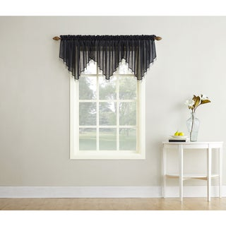 Link to No. 918 Crushed Sheer Voile Ascot Valance Similar Items in Window Treatments