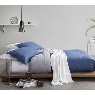 BYB Chisel Blue Comforter (Shams Not Included) (Option: Twin Xl)
