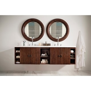 """Sonoma 72"""" Double Vanity, Coffee Oak"""