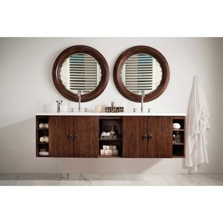 "Sonoma 72"" Double Vanity, Coffee Oak"