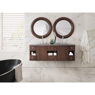 "Sonoma 60"" Double Vanity, Coffee Oak"