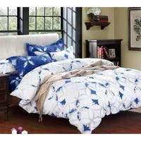 BYB Sapphire Peace Blue and White Comforter (Shams Not Included)
