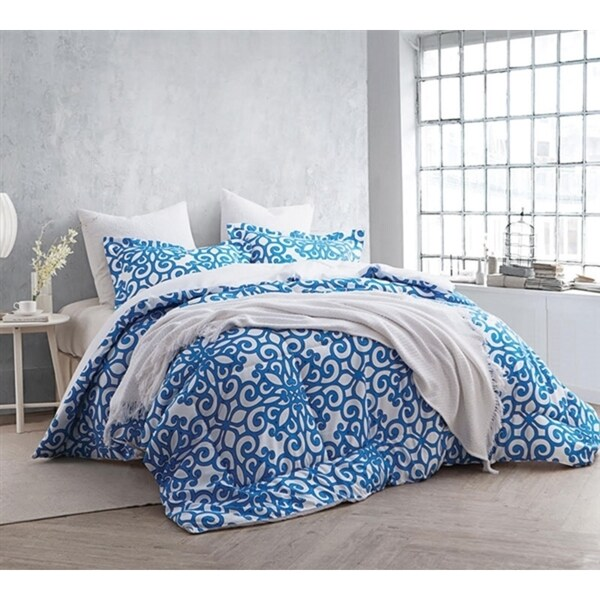BYB Crystalline Blue Comforter (Shams Not Included)