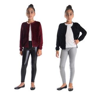 Dinamit Girls Faux Leather Leggings (Pack of 2)|https://ak1.ostkcdn.com/images/products/14565471/P21114162.jpg?_ostk_perf_=percv&impolicy=medium