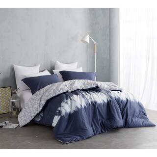 BYB Navy Blur Cotton Comforter (Shams Not Included)