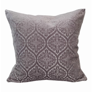 Home Accent Pillows Lilac Chenille Jacquard Throw Pillow