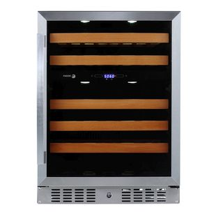 Fagor 24-inch Built-in Dual Zone Wine Cooler