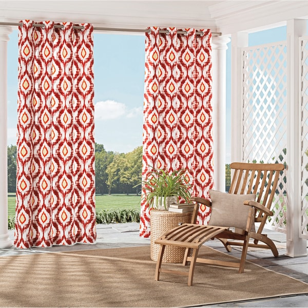 Parasol Barbados Indoor/Outdoor Curtains - Free Shipping On Orders ...