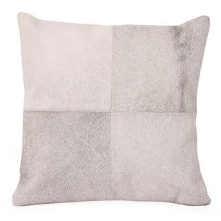 Burro Grey Cow Hide Throw Pillow