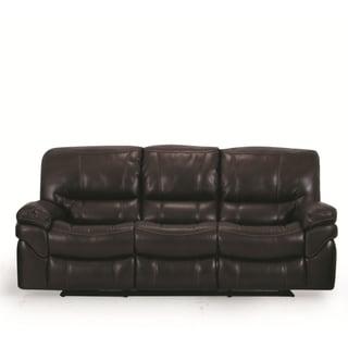 LYKE Home Brown Reclining Sofa