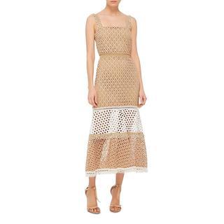 Alexis Beige Lace Erin Dress