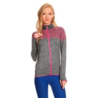 Ultra Lightweight Seamless Active Living Grey Running Jacket (3 options available)