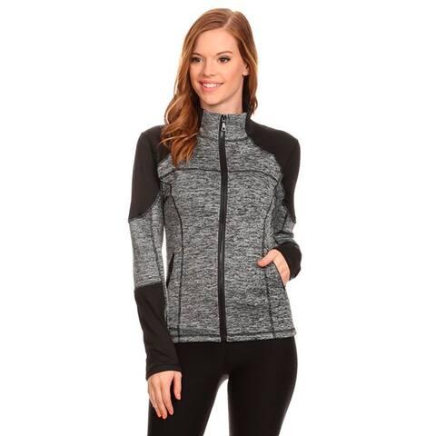 Women's Active Wear Zip-up Jacket