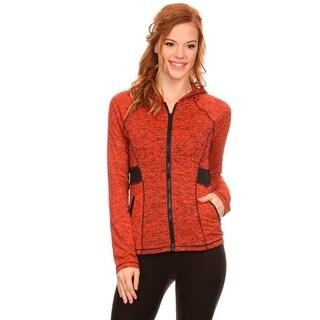 Women's Active Wear Zip Up Hoodie Jacket