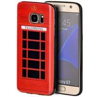Samsung Galaxy S7 TPU IMD Telephone Booth Case