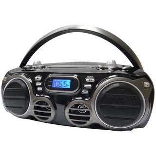 Sylvania SRCD682BT Bluetooth Portable CD AM/FM Radio Boom Box (Refurbished)