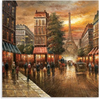 Bassett Mirror Company 'Paris Nights' Wall Art
