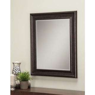 Sandberg Furniture Oil-rubbed Bronze 36 x 30-inch Wall Mirror