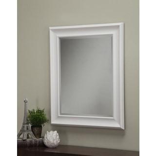 Sandberg Furniture White 36 x 30-inch Wall Mirror