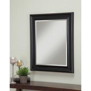 Sandberg Furniture Black 36 x 30-inch Wall Mirror - Large (over 32'' high)