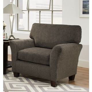 Sofab Contemporary Fifth Avenue Charcoal Oversized Chair