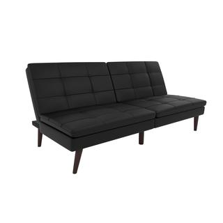 Avenue Greene Wesley Faux Leather Pillowtop Futon