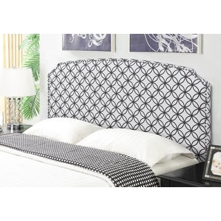 Shelby Orbit Upholstered Full/Queen Size Head Board by Greyson Living