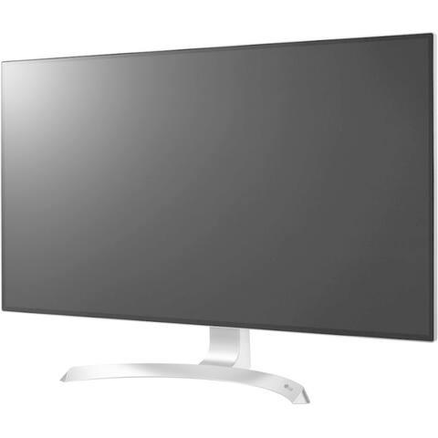 "LG 32UD99-W 31.5"" 4K UHD LED LCD Monitor - 16:9 - Silver, White"